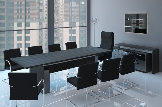Столи для засідань в класичному стилі